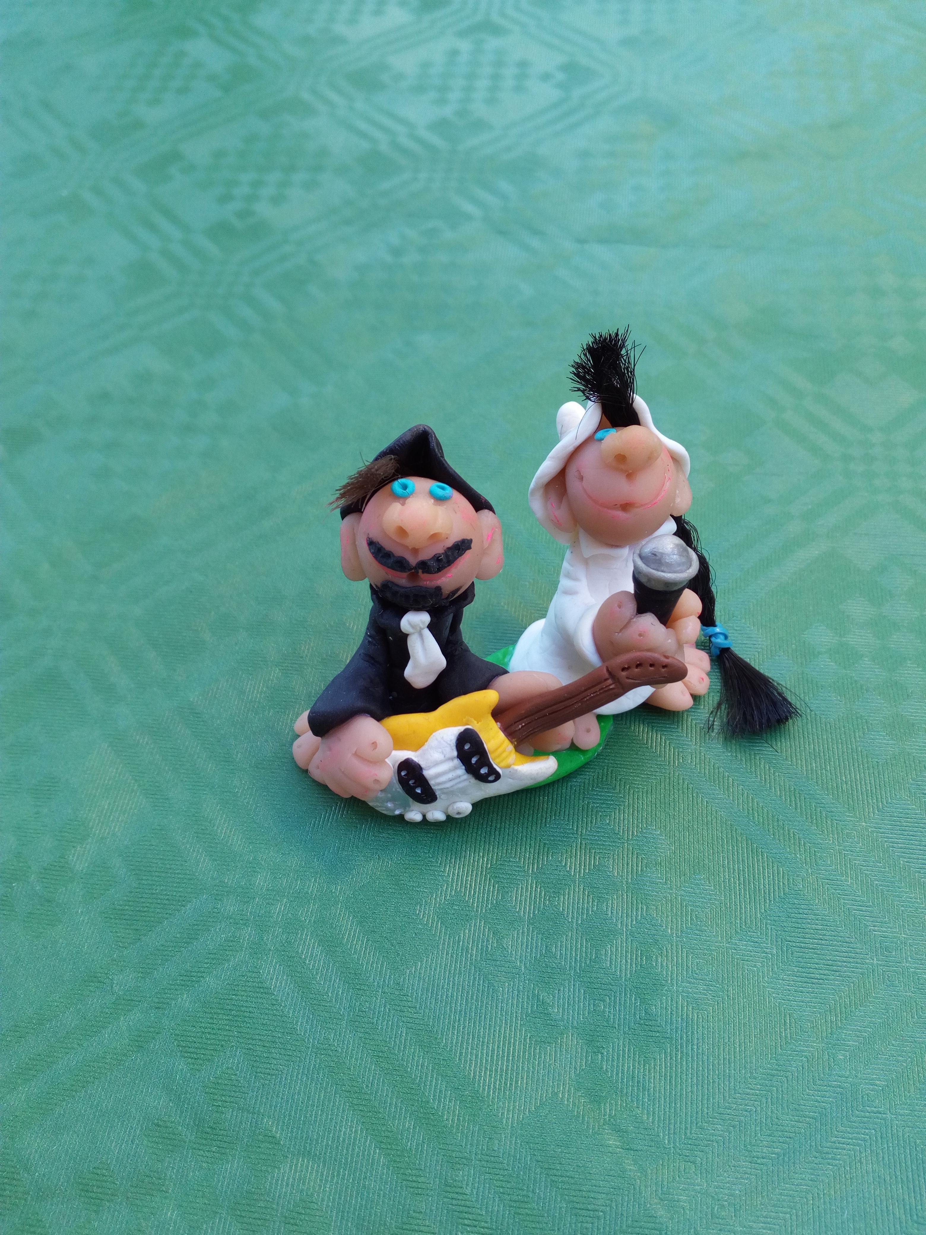 Bomboniere strumenti musicali - sposi